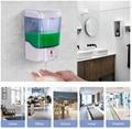 27oz Smart Sensor Touchless Automatic Liquid Spray Dispenser Electroplated Sanit 5