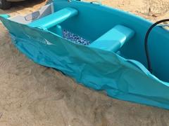 HIDER海的橡皮艇马达汽艇加厚钓鱼船冲锋舟硬底充气船皮划艇快艇