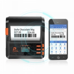 80mm label sticker barcode printer window desktop thermal printer 82DC