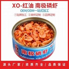 南極磷蝦紅油罐頭138克