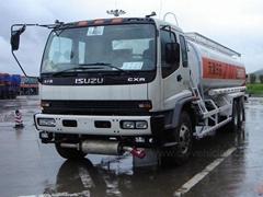 Isuzu 6X4 20000liters Carbon Steel Stainless Steel Aluminum Alloy Oil Tank Truck
