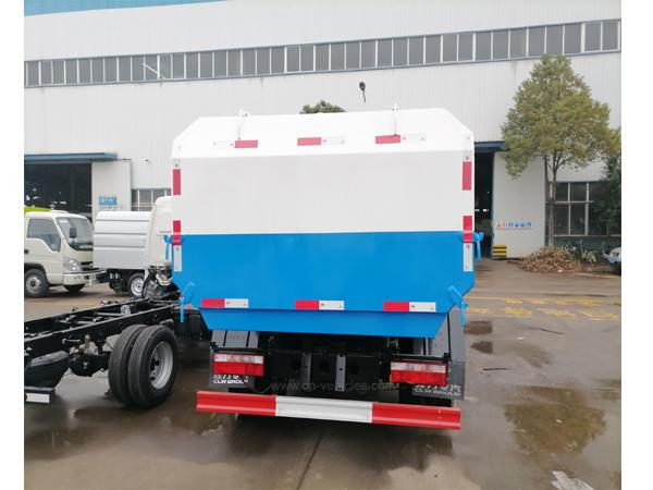 Dongfeng 3 ton to 22ton Side Load Garbage Truck With Lift System For Transport F 5