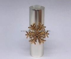 Novelty Lipstick Shell with Jewelry Ring decoration   custom lipstick shell