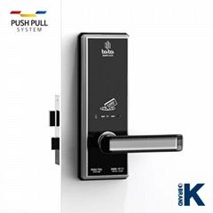 Electronic smart hotel door lock BABA-8111 swipe card lock