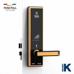Electronic digital hotel door lock BABA-8212 swipe card lock handle door