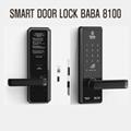Electronic smart door lock BABA 8100 swipe card handle door lock knob