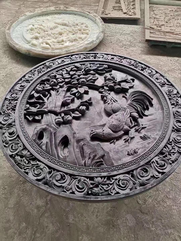 做磚雕制品用的模具硅膠 5
