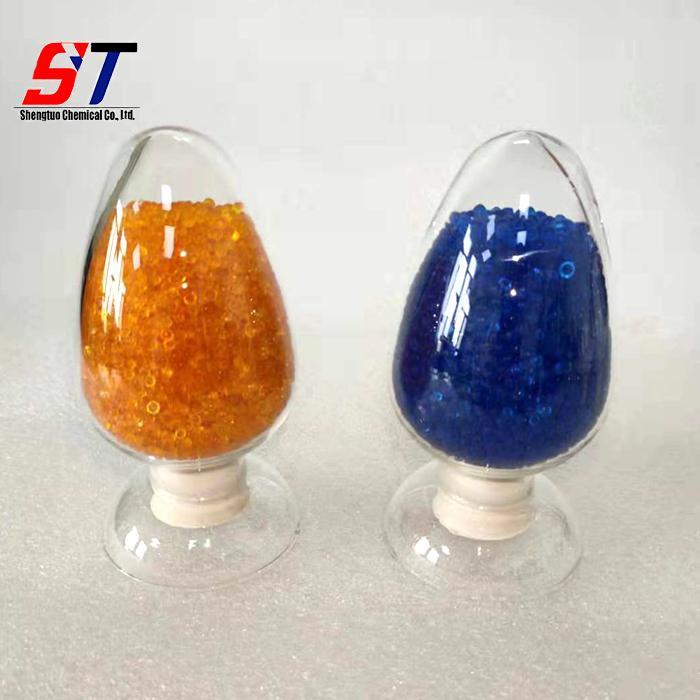 Orange And Blue Silica Gel Desiccant Granules Self Indicating Manufacturer  2