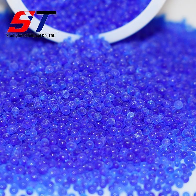 Orange And Blue Silica Gel Desiccant Granules Self Indicating Manufacturer  5