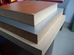 China Plain MDF Melamine MDF Wood Veneer MDF