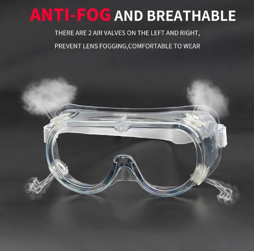 Anti-Splash goggles medical safety Anti-fog Anti-virus Safety Eye Goggles  2