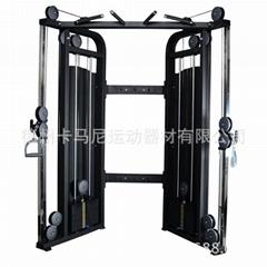 小飛鳥龍門架史密斯機多功能綜合訓練器械商用健身房專業器材全套