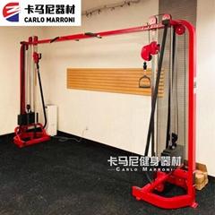 大飛鳥龍門架健身史密斯大型多功能綜合訓練器商用健身房專用器材