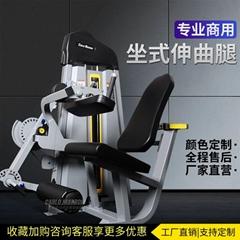 伸曲抬腿一體機商用健身房專用器材全套腿部肌肉彎舉組合訓練器械