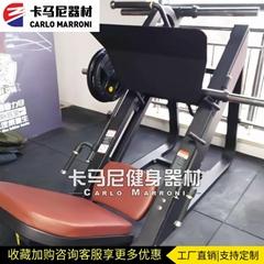 健身房器材45度倒蹬機商用專業腿部肌肉訓練器