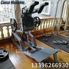 哈克雙向深蹲訓練器商用健身房專用器材全套大型腿部運動器械