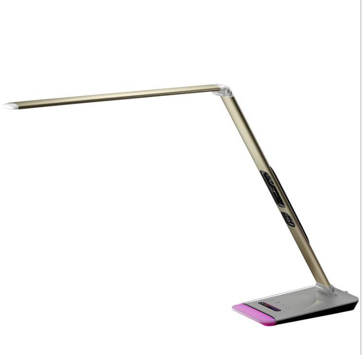 折疊觸摸按鍵式學習工作LED臺燈 1