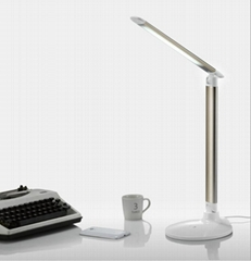 Touch-folding five-file dimmer learning reading work eye lamp