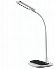 LED智能無線充護眼臺燈