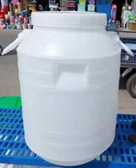 25-125L開口塑料桶 圓桶