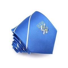 Soccer Gift Pencil Striped Silk Exquisite IFK Football Logo Custom Club Tie