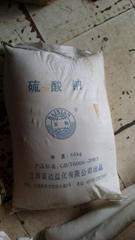 Filling quick drying agent sodium sulfate