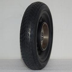 電動滑板車免充氣避震實心輪胎