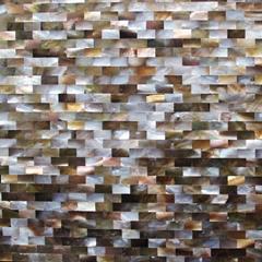 砖形企鹅贝马赛克瓷砖
