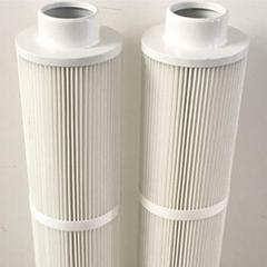 廠家供應焊接煙塵防阻燃380*420焊煙機濾筒除塵濾芯