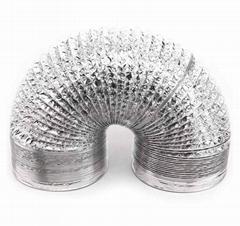 Flexible Aluminum Duct  Aluminum Hose  fire resistant Aluminum Hose