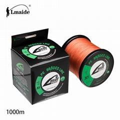1000 m Wholesale price PE braided wire 8x braided fishing line