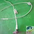 純鋁接地線OPGW光纜用配置並溝線夾接線端子 4