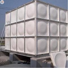 FRP water tank square  fire water tank civil air defense  splicing welding