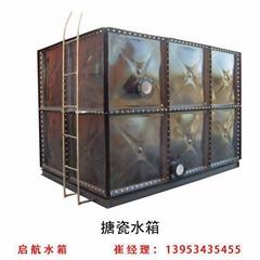 搪瓷水箱方形水箱消防水箱人防拼接焊接