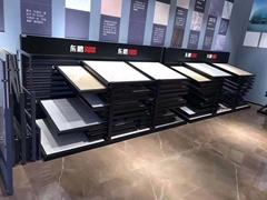 斜躺式展会展架木地板展架可抽拉式定制