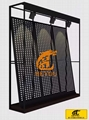 斜靠式冲孔板展示架可拼接尺寸可定制 1