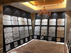 沖孔板挂鉤木地板瓷磚展示架