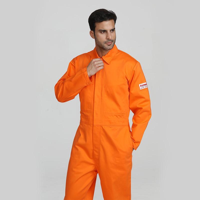 Customizable men's welding long sleeve coverall 1