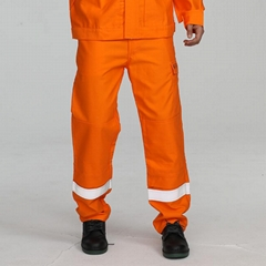 Designable flame retardant cargo pants men's wholesale with reflective tape