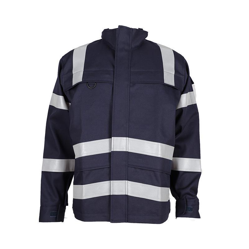 Construction Industry CVC Flame Retardant Protective Jacket 1