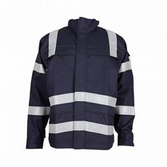Construction Industry CVC Flame Retardant Protective Jacket