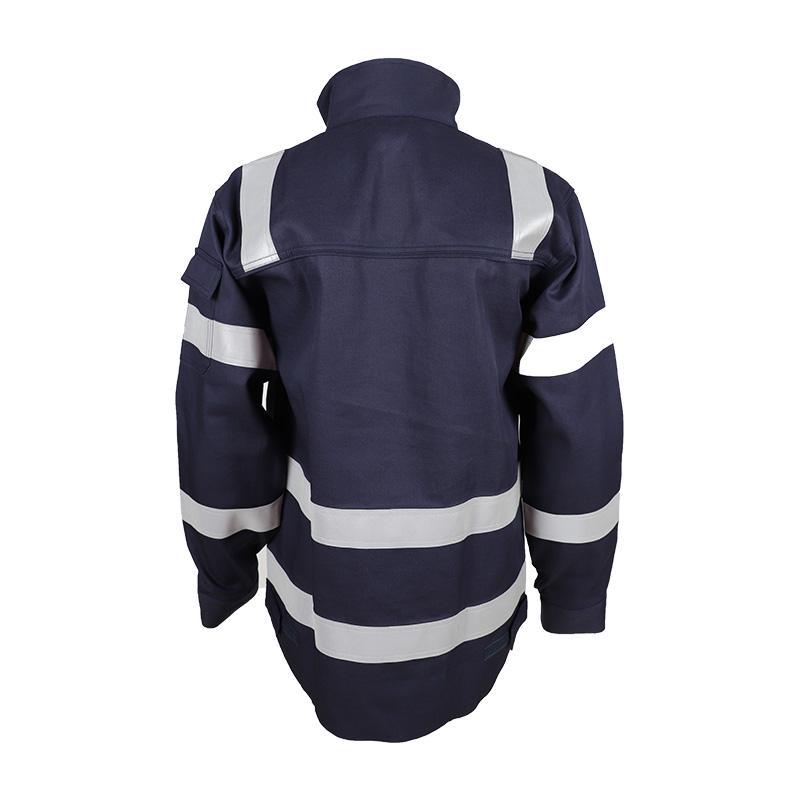 Construction Industry CVC Flame Retardant Protective Jacket 3