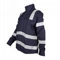 Construction Industry CVC Flame Retardant Protective Jacket 2