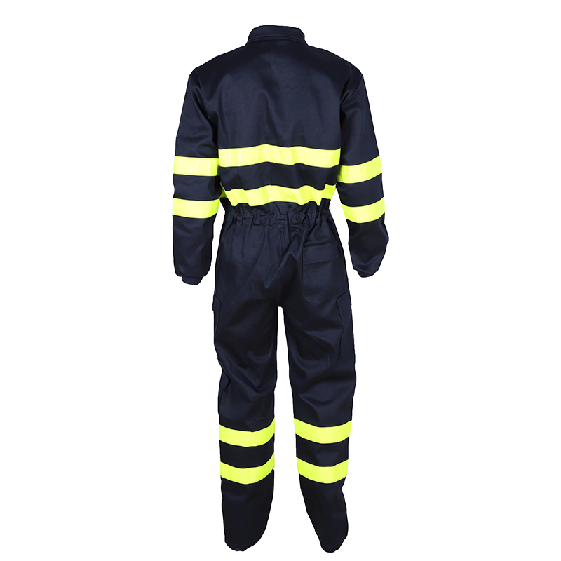 Offshore Anti-flame work coveralls with reflective tape 3