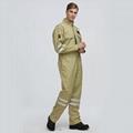 Industrial Flame-Retardant Anti-Static Aramid Fabric work coverall 1