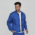 Blue men's industrial fire resistant security protective jackets 2