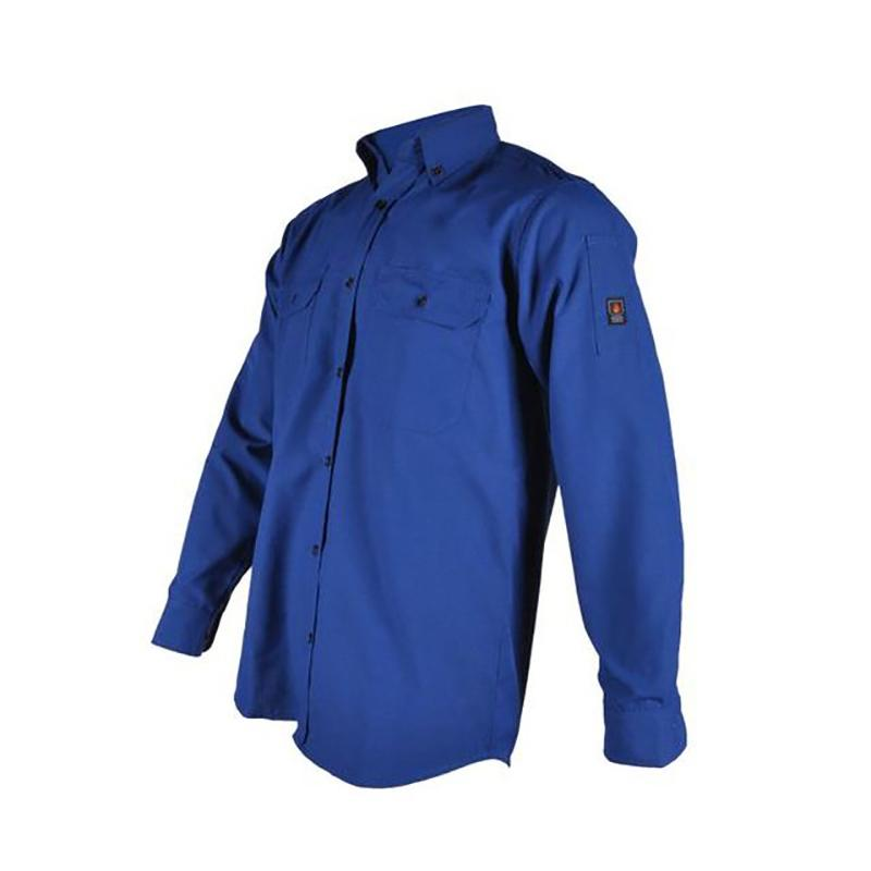 Flame retardant work safety shirt with pocket for men 2
