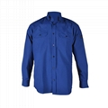 Flame retardant work safety shirt with pocket for men 1