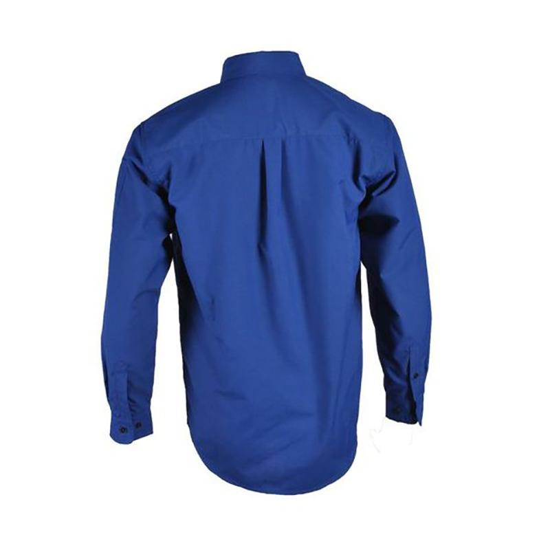 Flame retardant work safety shirt with pocket for men 3