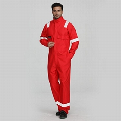 Men's safety fire retardant work coveralls